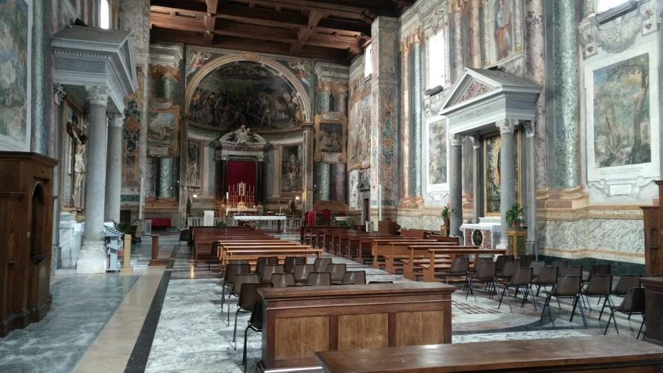 Mittelalterliche Kirche in Rom