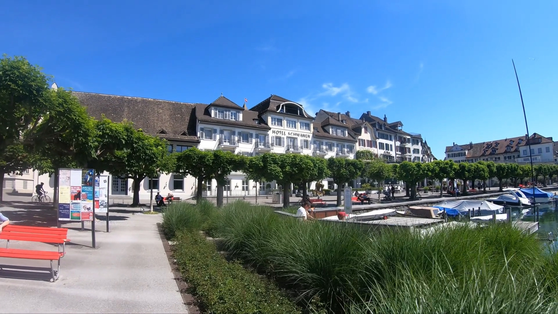 Promenade in Rapperswil